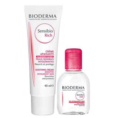 Bioderma Sensibio Rich Set Sensibio H20 100ml